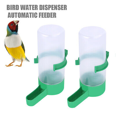 £4.93 • Buy 2/6PC Pet Drinker Water Feeder Bottles Clip For Finch Canary Budgie Birds Cage