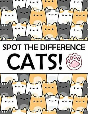 £7.39 • Buy Spot The Difference - Cats!: A Fun Search And Find Books Fo... By Marshall, Nick