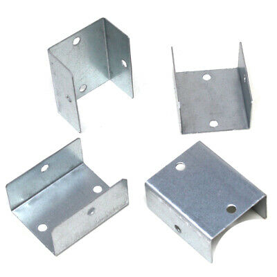 £7.99 • Buy FENCE PANEL CLIPS GALVANISED FENCE POST BRACKETS DECKING - 32mm 38mm 44mm 50mm