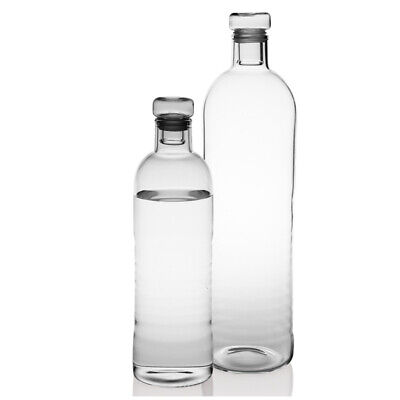 AU12.69 • Buy 500/1000ML Fashion Portable Transparent Sport Glass Water Bottle With Protective