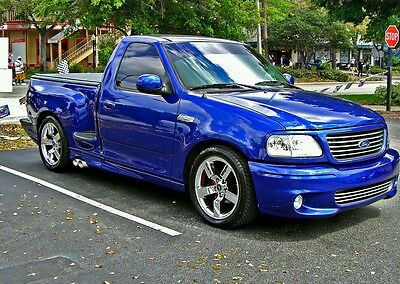 $550 • Buy 99 00 01 02 03  Ford F150 Step Side Lightning Style Body Kit Side Skirts ONLY
