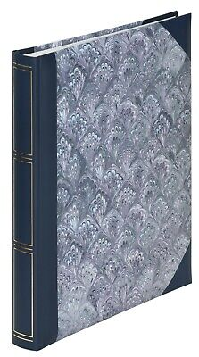 Deluxe Large BLUE MARBLE Self Adhesive Photo Album Various Sized Photos 50 Pages • 14.95£
