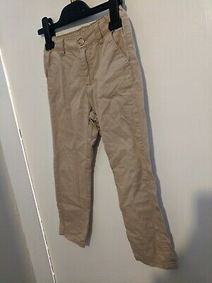 £3.99 • Buy Girls Tan Brown Chinos Trousers Age 4-5 By H&M