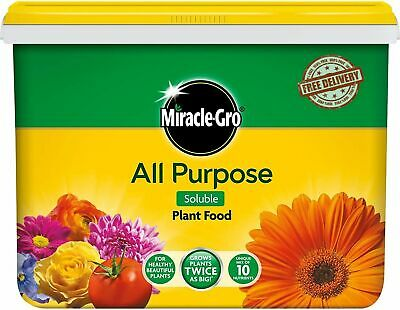 £12.89 • Buy Miracle Gro Grow Continuous Slow Release All Purpose Plant Food Garden 2Kg Tub