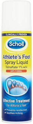 £4.76 • Buy Scholl Athletes Foot Spray, Size 150ml, Anti-Fungal, Prevents Reinfection, Spray