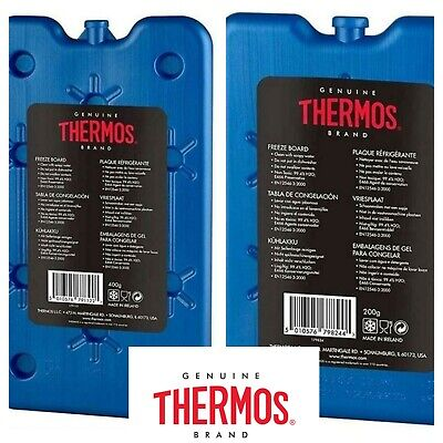 £3.95 • Buy Thermos Cool Bag Cooler Box Freeze Board Ice Pack  For Cool Boxes & Bags UK