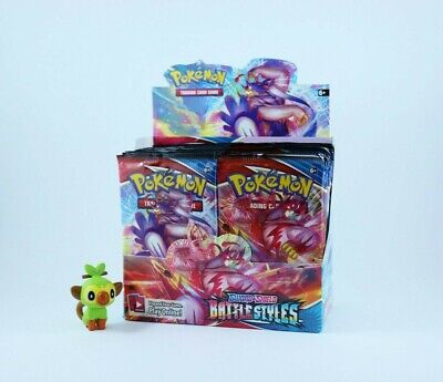 AU9.95 • Buy Pokemon - TCG - Sword & Shield - Battle Styles - Booster Pack SEALED & AUTHENTIC