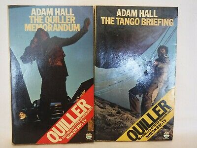 $4.87 • Buy 2 X Adam Hall: Quiller Memorandum & Tango Briefing (1975 Fontana Pb)  (w007)