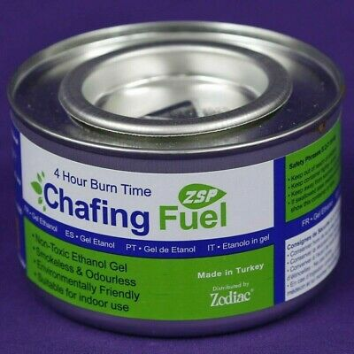 £8.95 • Buy 2 X Ethanol Chafing Dish Fuel Chafer Gel 4hr Can Catering BBQ Buffet Camping