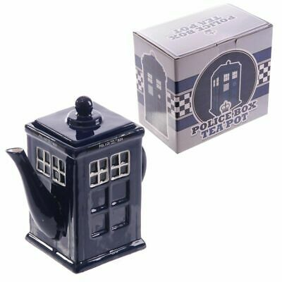 £17.99 • Buy Novelty Police Box Shaped Teapot London Souvenir Collectable Gift Tardis Style