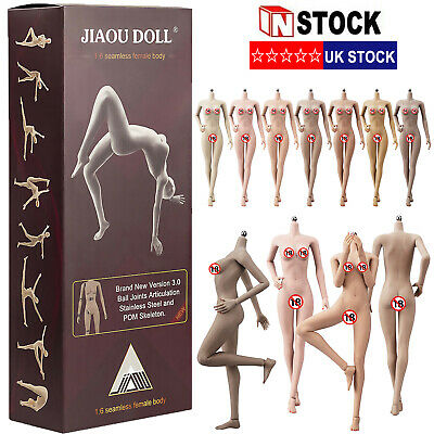 £8.59 • Buy 1/6 Scale Super Flexible Seamless Body M Bust Action Figure Female 12  Model Toy
