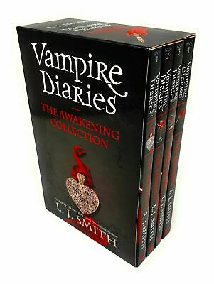 £14.99 • Buy Vampire Diaries Awakening 1 To 4 Books Young Adult Set Paperback By L J Smith