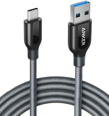 AU23.89 • Buy PowerLine+ USB-C To USB 3.0 Cable 6ft/1.8m Fast Sync & Charge High Durability