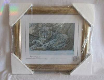 £25 • Buy Stephen Gayford Limited Edition Print.Snow Leopard Mountain Retreat New Boxed