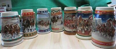 $ CDN23.75 • Buy Budweiser1993-1999 Holiday Stein Collection Lot 7