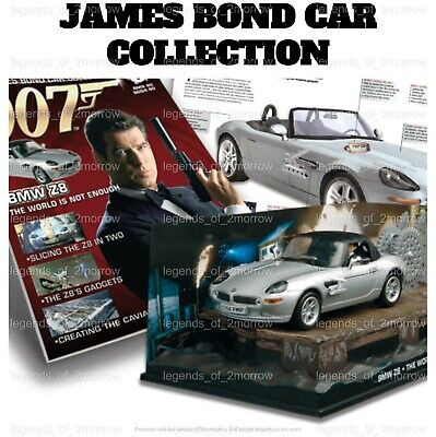 $ CDN54.72 • Buy Official Eaglemoss 007 James Bond Car Collection - New - Choose Any Issue