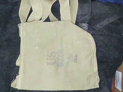 $17 • Buy  U.S. Military Vintage Field Canvas Bag  M9A1 Held Field Protective Mask