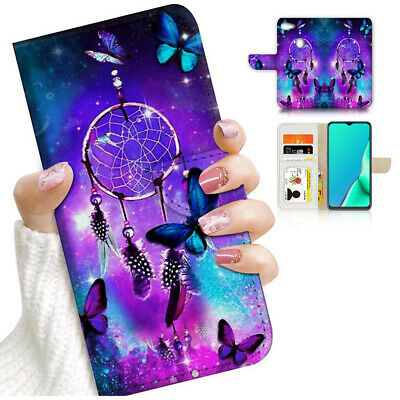 AU12.99 • Buy ( For Oppo A73 ) Flip Wallet Case Cover PB24241 Dream Catcher