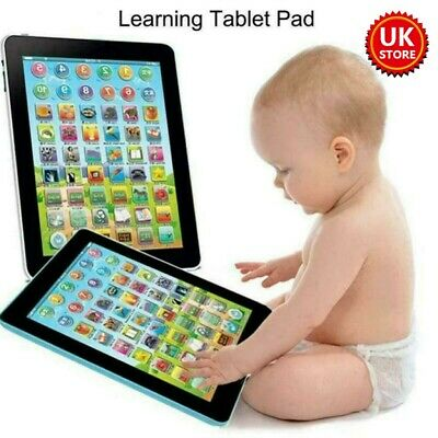 £6.98 • Buy Baby Tablet Educational Toys Girls Toy For 1 2 Year Old Toddler Learning English
