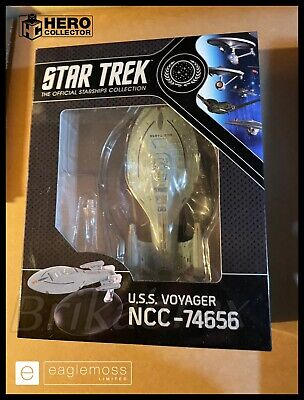 £27.99 • Buy Star Trek Starship Collection Boxed Display Edition USS Voyager NCC-74656 No. 5