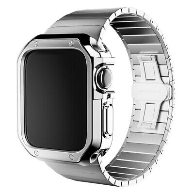 $ CDN28.94 • Buy Stainless Steel Wrist IWatch Band Strap+Case For Apple Watch Series 6 5 4 3 2 SE