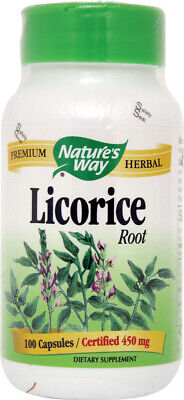 £10.47 • Buy Licorice Root By Nature's Way, 100 Capsules