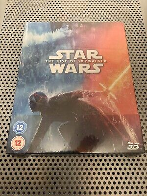 AU64.45 • Buy Star Wars: The Rise Of Skywalker 3d + 2d Zavvi Steelbook Brand New & Region Free