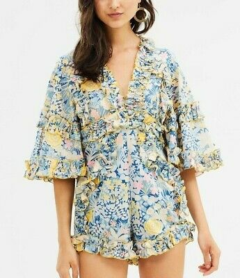 AU160 • Buy Alice McCall -  Choose Me Playsuit . Size- 8. RRP- $360 New