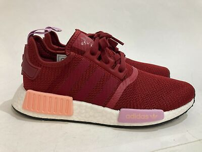 AU59.99 • Buy NEW Adidas NMD_R1 Burgundy Ladies Running Shoes Size 7 RRP$160