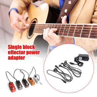 AU14.50 • Buy 9V 1A Guitar Accessory Effect Musical Entertainment Pedal Power Supply Adapter