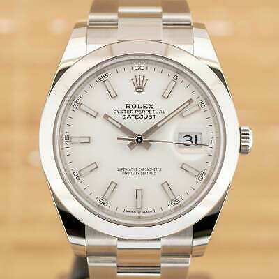 $ CDN12264.44 • Buy Rolex Datejust 41 - Unworn With Box And Papers February 2021