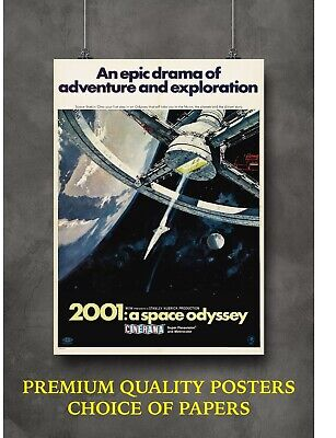 £3.60 • Buy 2001 A Space Odyssey Classic Movie Art Large Poster Print Gift A0 A1 A2 A3 A4