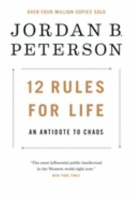 AU19.30 • Buy 12 Rules For Life : An Antidote To Chaos By Jordan B. Peterson (Hardcover, 2018)