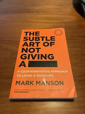 AU5 • Buy The Subtle Art Of Not Giving A F*ck By Mark Manson