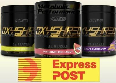 AU76.99 • Buy Ehplabs Oxyshred Hardcore Thermogenic Fat Burner Ehp Labs Oxy Shred