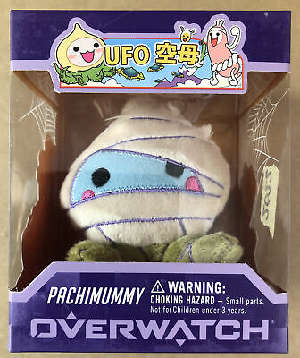 AU27.50 • Buy 2022 Overwatch Pachimummy Figure - Very Good Condition + Free Post