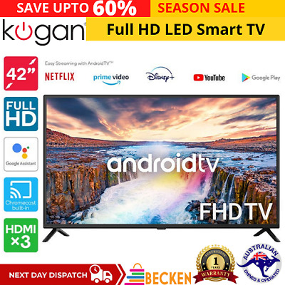 AU598.45 • Buy 42  Inch Full HD LED Smart TV Android TV™ Netflix Youtube Chromecast HDMI USB