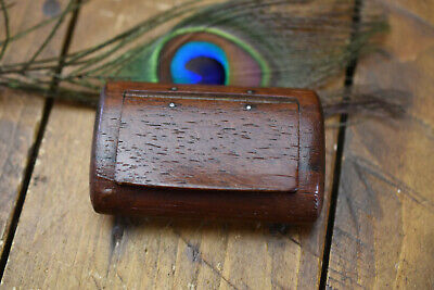 £165 • Buy  Antique Vintage Wooden Snuff Box Pill Box Rosewood