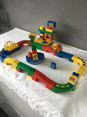 £55 • Buy Lego Duplo Vintage 2281 Deluxe  Harbour Highway 100% Complete Without Box