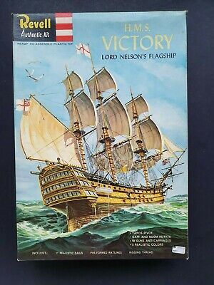 £33.99 • Buy Revell H.m.s Victory Lord Nelson's Flagship Very Early Version  H-363 1964