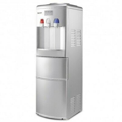 $383.13 • Buy Top Loading Water Dispenser With Built-In Ice Maker Machine-Silver - Color: Sil