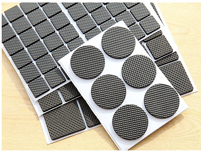 £2.99 • Buy Self Adhesive Anti Scratch Rubber Chair Table Leg Pads Floor Protectors