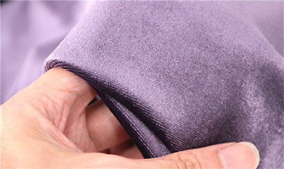 £18.99 • Buy Velvet Fabric Warp Knitted Polyester Stretch Fabric Thick Cloth Fabric