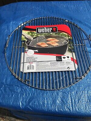 $ CDN21.30 • Buy Weber 7433 (17.5 In) Hinged Cooking Grate For 18 Inch Weber Charcoal Grill New