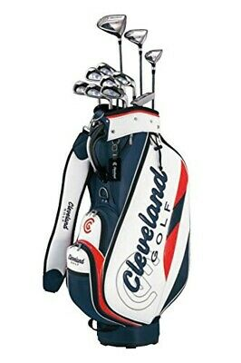 AU1192.84 • Buy Cleveland Golf Club Set Cleveland Package With 11 Clubs Caddy Bag Right Flex: S