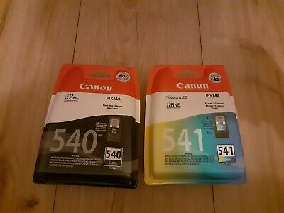 Canon Pg540 Black/cl541Colour Multipack New • 18.01£