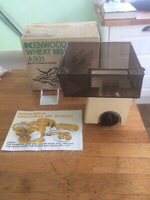 £129.99 • Buy KENWOOD CHEF - Wheat Mill A931 (Fits A901 / KM) Excellent Condition 👩🍳🍞🥖✔
