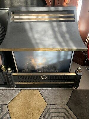 £45 • Buy Bronze Flavel Renoir Gas Fire Outset Radiant Convector With Coal Effect