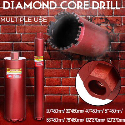 20mm-120mm Diamond Core Drill Bit Hole Cutter Metal Drilling Tool For Concret • 21.29£