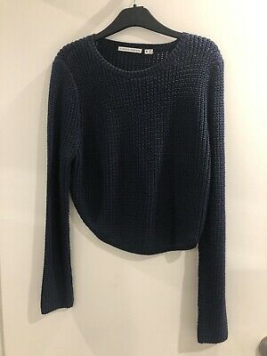 AU15 • Buy NWOT FINDERS KEEPERS Cut Out Back Knit (Navy) Size Medium